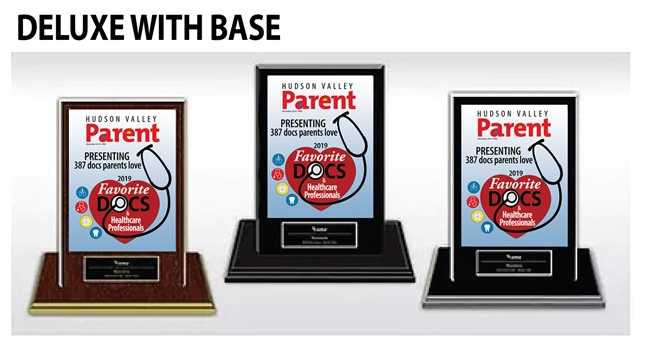 2019 Deluxe HV Parent Docs Parents Love Base Plaques