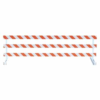 Break-Away Type III - 12' Break-Away  Kit with Engineer Grade Striped Sheeting (One Side)