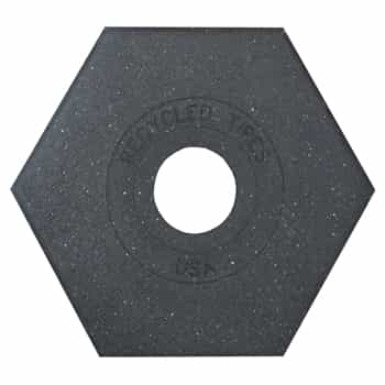 8 lb. Rubber Base