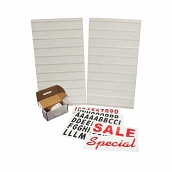 "White Message Board Kit 28""Wx44""H"