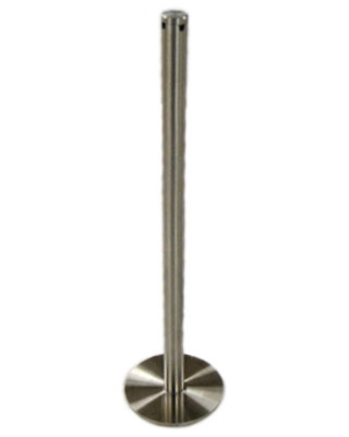"Museum & Art Gallery Stanchion, 16"" Tall with Magnetic Base"