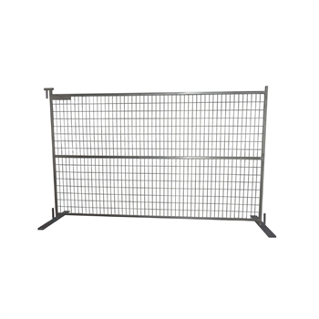 Temporary Construction Fence Panels, Galvanized Steel (6 X 9.5' ft.)