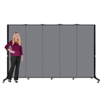 "Light Duty Room Divider - 6' 5""H x 9' 5""L - 5 Panel"