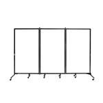 "Whiteboard Room Divider - 3 Panel - 6' 2""H x 10' 0""L"