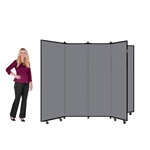 "Art Display Room Partition Tower  - 5' 9"" High, 6 Wings"