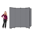 "Art Display Room Partition Tower  - 6' 5"" High, 6 Wings"