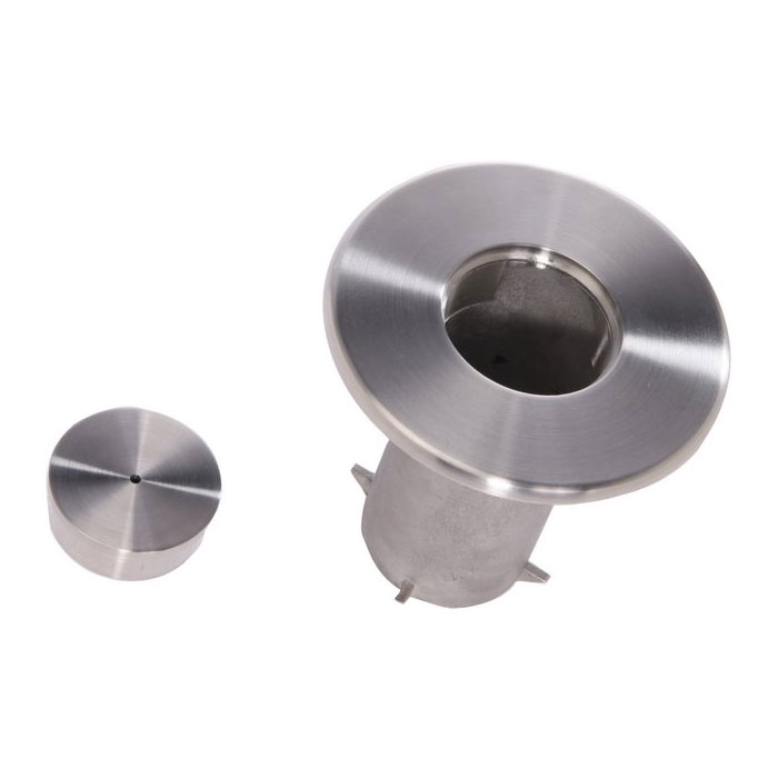 Floor Socket And Cap For Removable Stanchion By Crowd Control Direct
