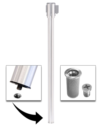 Mini Floor Socket and Cap for Removable Stanchion