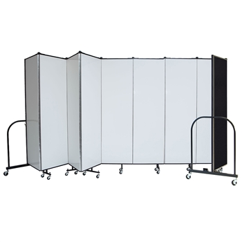 "Dry Erase / Tackable 6' x 13'1"" Portable Room Divider"