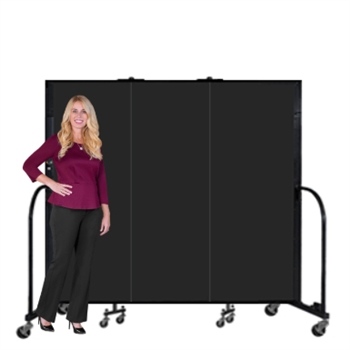 Portable Fire Resistant Welding Screens 6' ft High