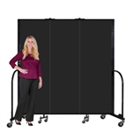 "Portable Fire Resistant Welding Screens 6' 8"" ft High"