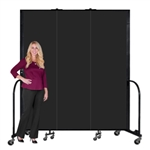"Portable Fire Resistant Welding Screens 7' 4"" ft High"