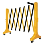 Xpandit Expandable Plastic Barricade, Yellow & Black