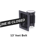 Recessed Mounted Belt 13' ft