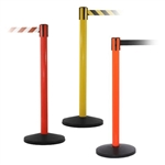 Yellow, Red and Orange  Barrier with 10ft Retractable Belt - QU900