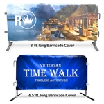 Barricade Covers & Barrier Jackets, 8' ft. (Digitally Printed)