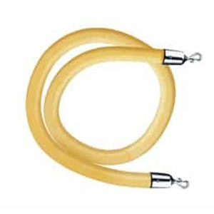 Gold Leather-like Stanchion Rope