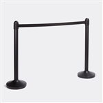Securit Crowd Control Barrier, Black