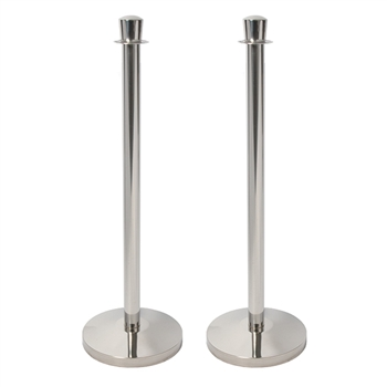 American Metalcraft RSLWCH Crowd Control Stanchion (Set of 2)
