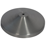 Securit Crowd Control Barrier, Brushed Stainless Steel Replacement BASE