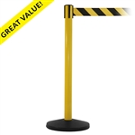 "SafetyMaster Xtra - 3"" wide 11' ft. belt barrier"