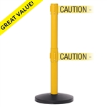 "SafetyMaster Twin Xtra - 3"" wide double 11' ft. belt barrier"