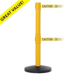 SafetyMaster Twin - double 11' ft. belt barrier