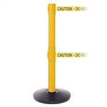 SafetyPRO 250 Twin - double 11' ft. belt barrier.