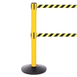SafetyPRO 300 Twin - long 16' ft. double belt barrier