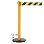 "RollerSafety Xtra - 3"" inch wide belt barrier."