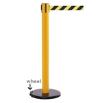 RollerSafety 300 - long 16' ft. belt barrier