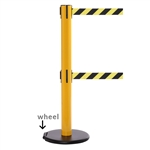 RollerSafety 300 Twin - long 16' ft. double belt barrier