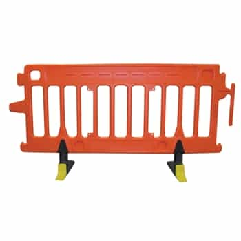 Avalon Crowd Control Plastic Barricade - Orange