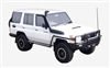 LANDCRUISER CENTRAL LOCKING KIT << 79 SERIES >> 78 SERIES and 76 SERIES - This is Central Locking Motors, Cables, Remote Controls and Wiring Harness for Landcruiser Central Locking and Keyless Entry >> All the Parts for Complete DIY Installation