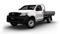 TOYOTA HILUX CENTRAL LOCKING KIT 2 DOORS << 2004 to 2018 >> - This is Central Locking Motors, Cables, Remote Controls and Wiring Harness for Toyota Hilux Central Locking and Keyless Entry >> All the Parts for Complete DIY Installation