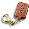 Small Rectangle - WoodGrain with 2 Round Buttons for Car Alarms, Immobilisers and Central Locking systems