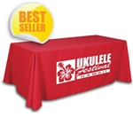 4-sided Trade Show Table Throw