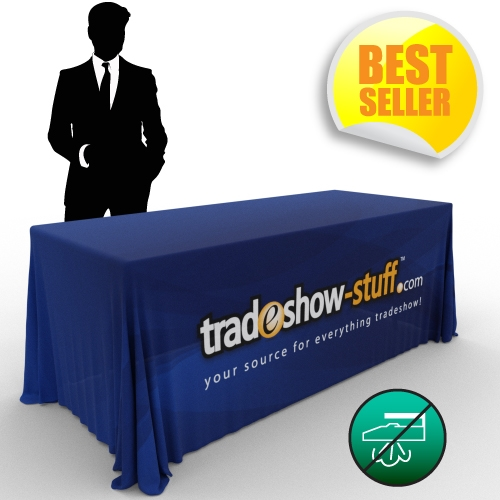 sc 1 st  Trade Show Displays Table Covers Banners - tradeshow-stuff.com & Wrinkle Free Trade Show Table Cover