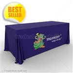 4-sided Trade Show Table Drape