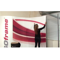 ISO Frame Wave Trade Show Graphic Panel