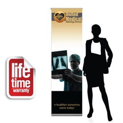 BannerUp Plus SM Retractable Banner
