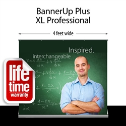 BannerUp Plus Retractable Table Top Display