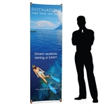 Bamboo X Eco-friendly Banner Stand