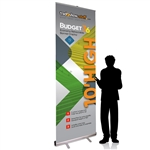 10ft Tall Retractable Banner Stand