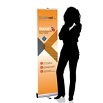 16in Budget Retractable Banner Stand