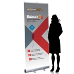 34in Budget Retractable Banner Stand
