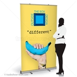48in Budget Retractable Banner Stand