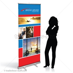 CampaignExtra Retractable Banner Display