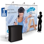 CampaignExtra 8ft Retractable Banner Wall Package