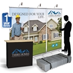 CampaignExtra 8ft Retractable Banner Wall Show Kit